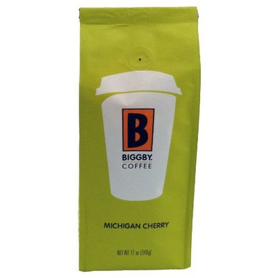 BIGGBY Coffee BIGGBY Michigan Cherry Ground Coffee, 12-Ounce Bags (Pack of 3)