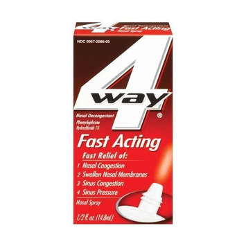 4 Way 4-Way Fast Acting Nasal Spray .5 oz (14.8 ml)