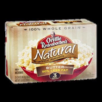 Orville Redenbacher's Natural 50% Less Fat Butter Gourmet Popping Corn