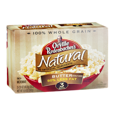 Orville Redenbacher's Natural Gourmet Popping Corn Butter