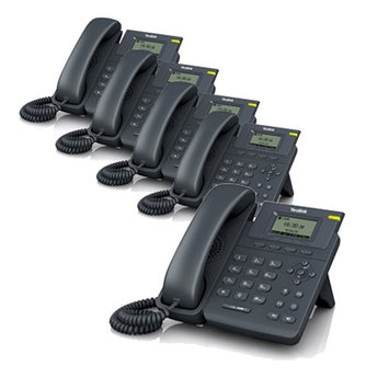 Yealink SIP-T19P (5-pack) Entry-Level IP Phone