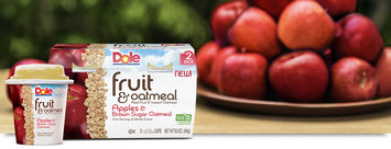 Dole Fruit & Oatmeal Apples & Brown Sugar Oatmeal