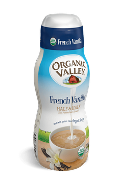 Organic Valley® French Vanilla Half & Half, Pint