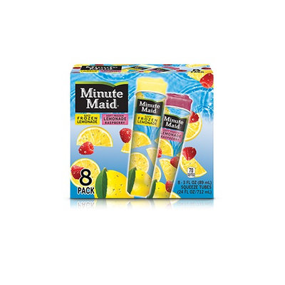Minute Maid® Soft Frozen Lemonade – Lemon Tubes Variety Pack