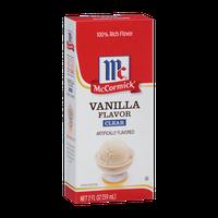 McCormick® Vanilla Flavor - Clear