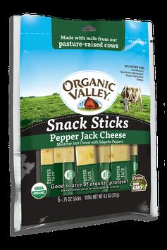Organic Valley® Pepper Jack Snack Sticks