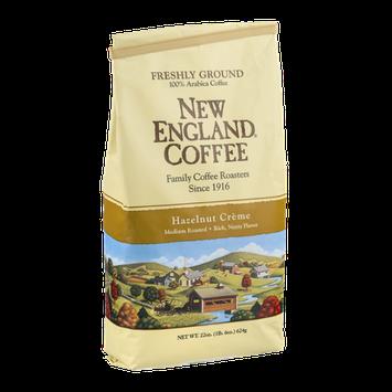 New England Coffee Hazelnut Creme Medium Roast Freshly Ground