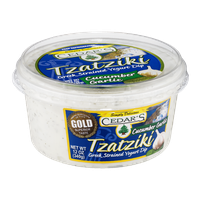Cedar's Tzatziki Greek Strained Yogurt Dip Cucumber Garlic