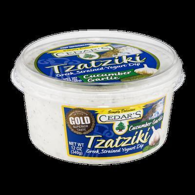 Cedar's Tzatziki Greek Strained Yogurt Dip Cucumber Garlic
