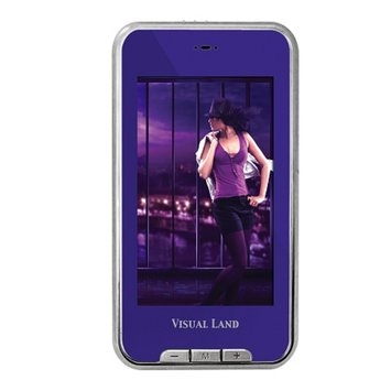 Visual Land V-Touch Pro 4GB 3-inch Touch Screen Video/Music Player