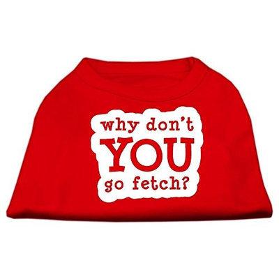 Ahi You Go Fetch Screen Print Shirt Red Med (12)