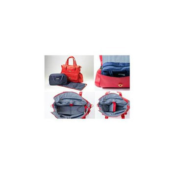 MinkeeBlue Candy Red Diaper Travel Bag