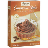 Inspired Cuisine Mousse Mix, Mocha, 2.8-Ounce Boxes (Pack of 8)