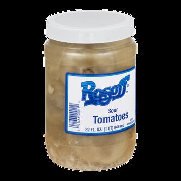 Rosoff Sour Tomatoes
