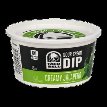 Taco Bell Sour Cream Dip Creamy Jalapeno