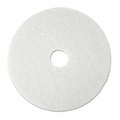 3M 08484 Super Polish Pad Removes Scuff/Black Heel 20in 5/CT White