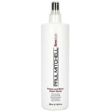 Paul Mitchell Freeze and Shine Super Spray, 16.9 fl oz