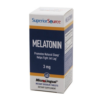Superior Source Melatonin 3mg