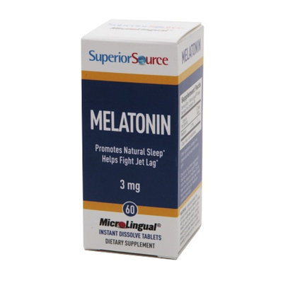 Superior Source Melatonin 3mg