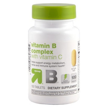 up & up up&up Vitamin B Complex with Vitamin C Tablets - 100 Count