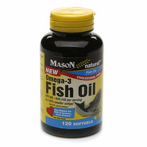 Mason Natural Fish Oil- EPA 360 DHA 240