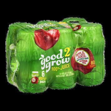 good2grow 100% Juice Refill Pack Apple Juice - 6 CT