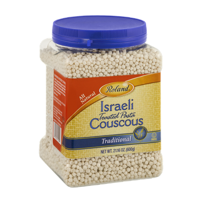Roland Israeli Toasted Pasta Couscous Traditional