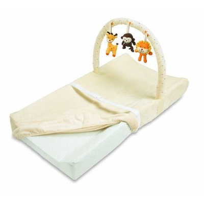 Summer Infant Plush N' Play Changing Pad with Toy Bar, Girly Bug