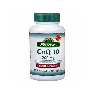 Finest CoQ-10 200mg Softgels