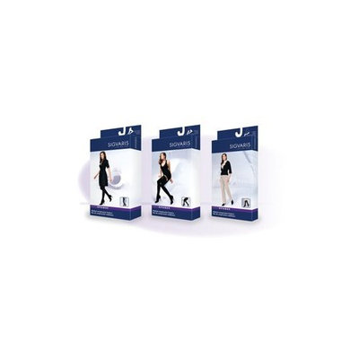 Sigvaris Soft Opaque 15-20 mmHg Closed Toe Knee High Sock Size: Small Short (SS), Color: Espresso 89
