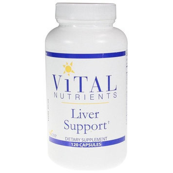 Vital Nutrients Liver Support 120 Capsules