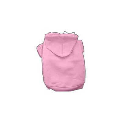 Mirage Pet Products 16-Inch Blank Hoodies, X-Large, Pink