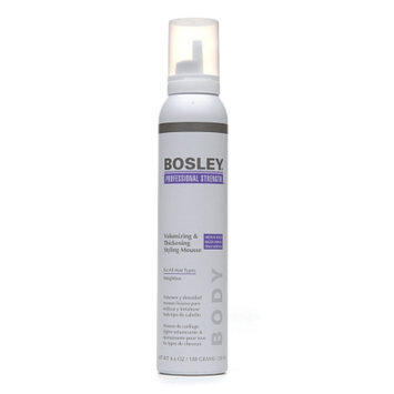 Bosley Professional Strength Volumizing & Thickening Styling Mousse for All Hair Types