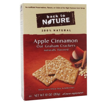 Back to Nature Apple Cinnamon Oat Graham, 10 oz