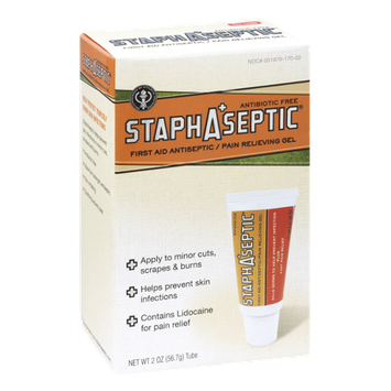 StaphAseptic First Aid Antiseptic / Pain Relieving Gel