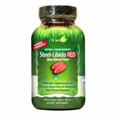 Irwin Naturals Steel-Libido RED max-Blood Flow