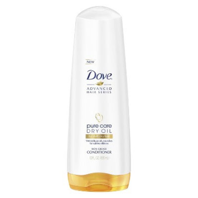 Dove Beauty Dove Pure Care Dry Oil for Dull, Dry Hair Conditioner - 12.0 fl oz