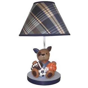 Babies R Us Lambs & Ivy Bow Wow Buddies Lamp with Shade