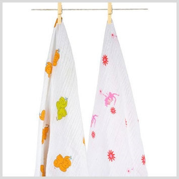 Aura Weavers AURA(tm) Weavers AW01P2S008R Princess Giggles baby blanket
