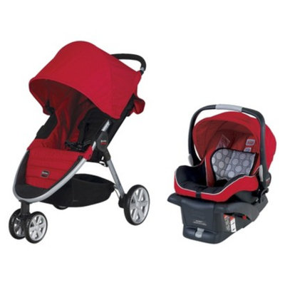 Britax B-Agile Travel System - Red