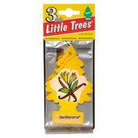 Little Trees 3-pak Vanillaroma Car Freshener