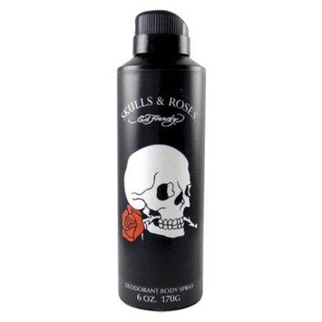 Skulls and Roses Men's Skulls & Roses By Ed Hardy Aero Body Spray - 6.0 oz