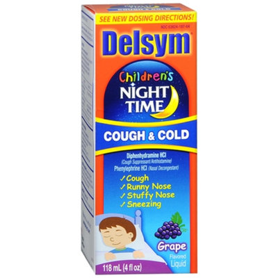 Delsym Children's Night Time Cough & Cold Liquid