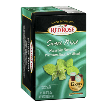 Red Rose Tea Sweet Mint - 12 CT