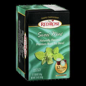 Red Rose Tea Sweet Mint - 12 CT
