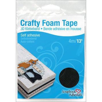 3l Corp 3L Crafty Foam Tape Roll Black 3/8