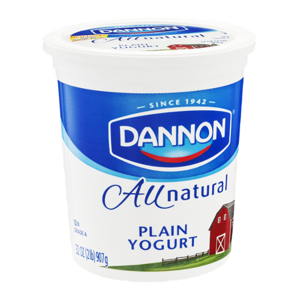 All Natural Organic Greek Yogurt