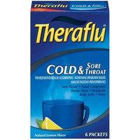 Thera flu Theraflu Cold & Sore Throat-Lemon-6 ct