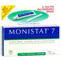 Monistat 7 Vaginal Antifungal Medication with Reusable Applicator, 1.59-Ounce Tubes (Pack of 2)