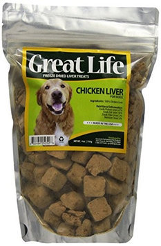 Great Life Freeze Dried Chicken Liver 4 oz.